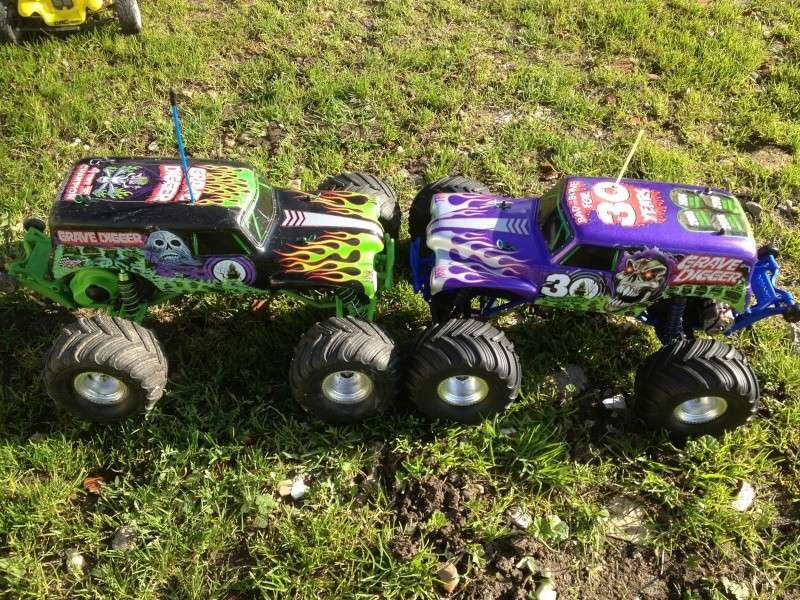Mon ex FG Monster Beetle & mes autres ex rc non short course Img_3629