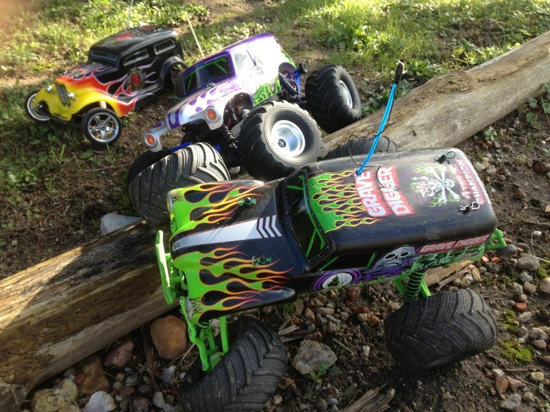 Mon ex FG Monster Beetle & mes autres ex rc non short course Img_3632