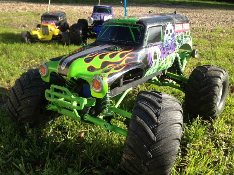 Mon ex FG Monster Beetle & mes autres ex rc non short course Img_3633