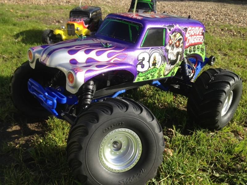 Traxxas Grave Digger 30th Anniversary , 1/10 Img_3643