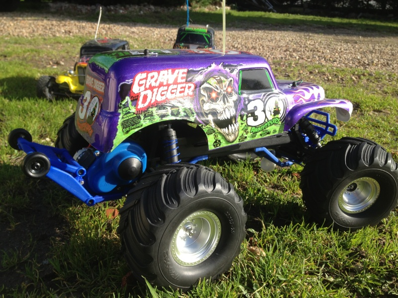 Mon ex FG Monster Beetle & mes autres ex rc non short course Img_3644