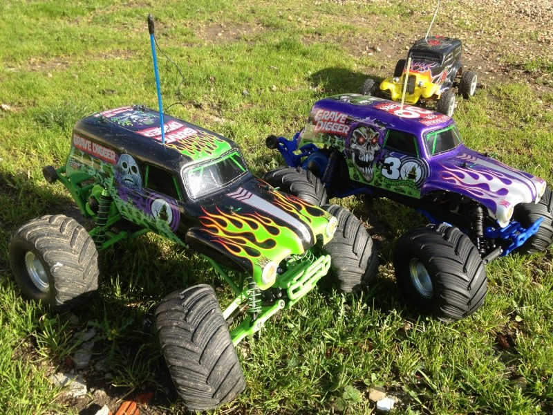 Mon ex FG Monster Beetle & mes autres ex rc non short course Img_3645