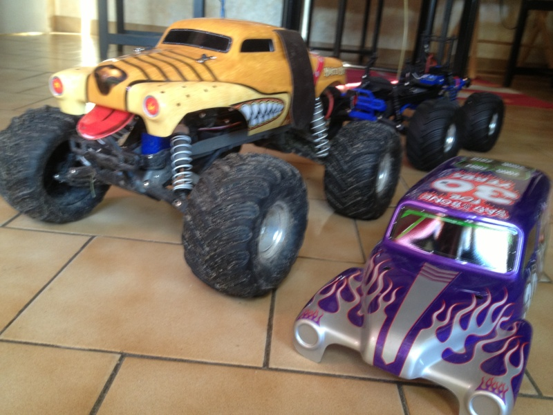 Mon ex FG Monster Beetle & mes autres ex rc non short course Img_4433