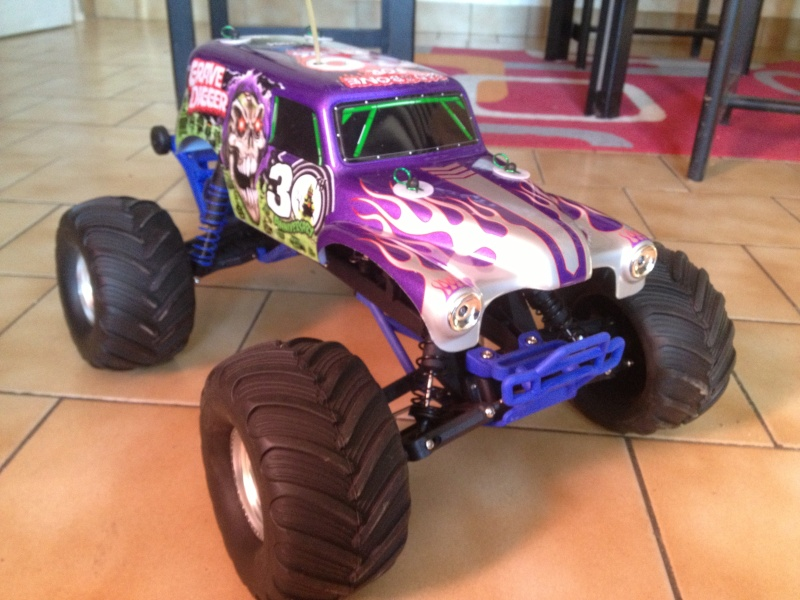 Mon ex FG Monster Beetle & mes autres ex rc non short course Img_4444