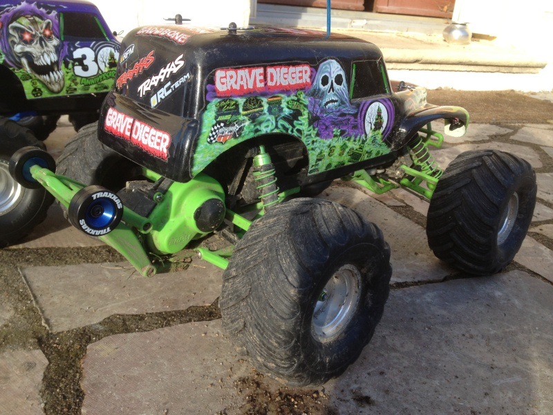 Mon ex FG Monster Beetle & mes autres ex rc non short course Img_4460
