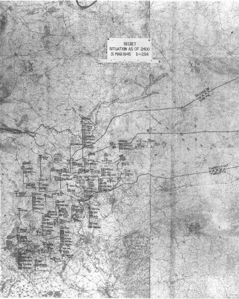 Cartes de progression de la 9th army us 22map_10