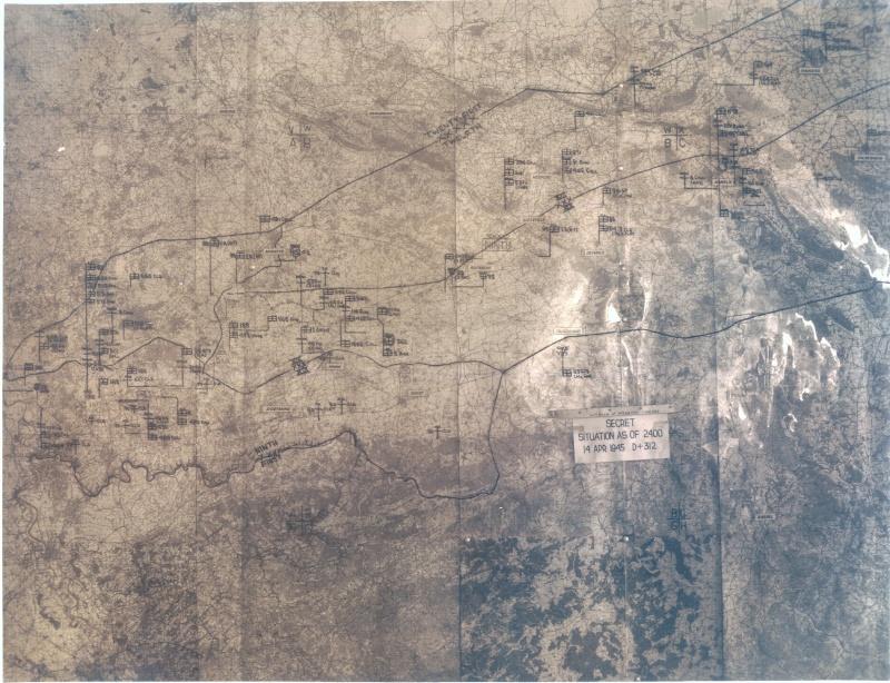 Cartes de progression de la 9th army us 23map_10