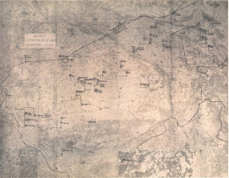 Cartes de progression de la 9th army us 25map_10