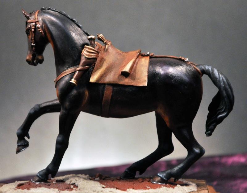 Cavalier parlementaire- Guerre civile anglaise 1645- 80 mm Border Miniatures - Terminé   1_modi10