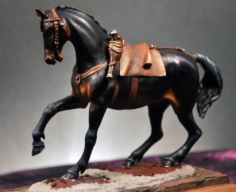 Cavalier parlementaire- Guerre civile anglaise 1645- 80 mm Border Miniatures - Terminé   2modi10