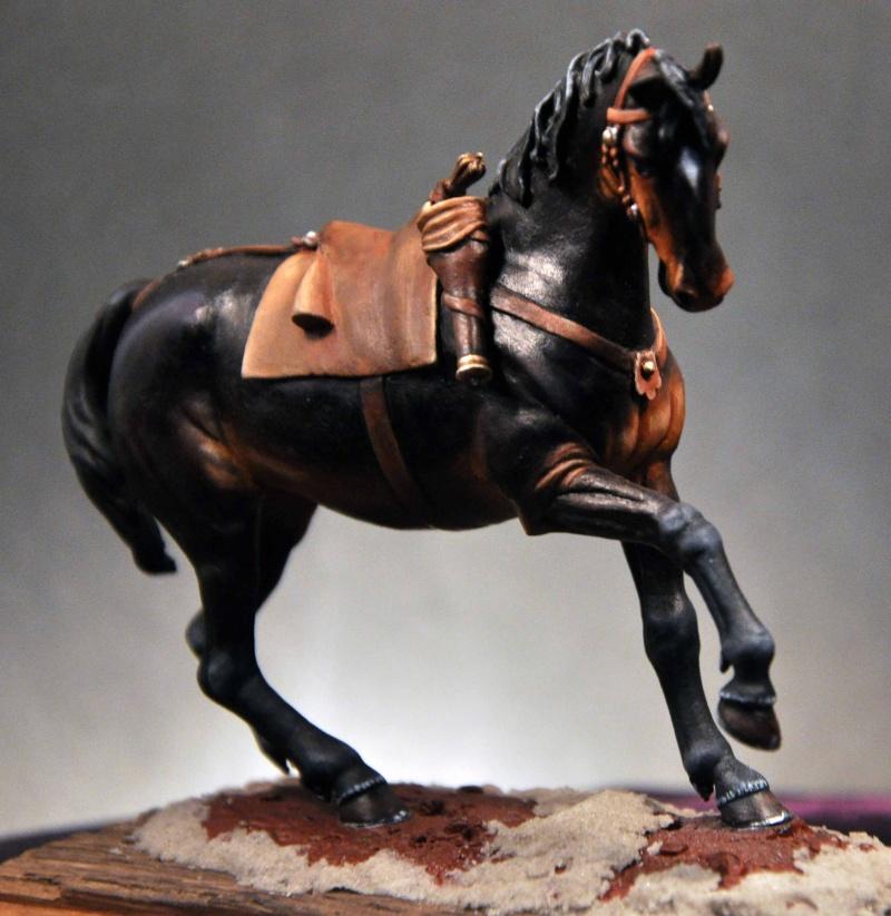 Cavalier parlementaire- Guerre civile anglaise 1645- 80 mm Border Miniatures - Terminé   3modi10