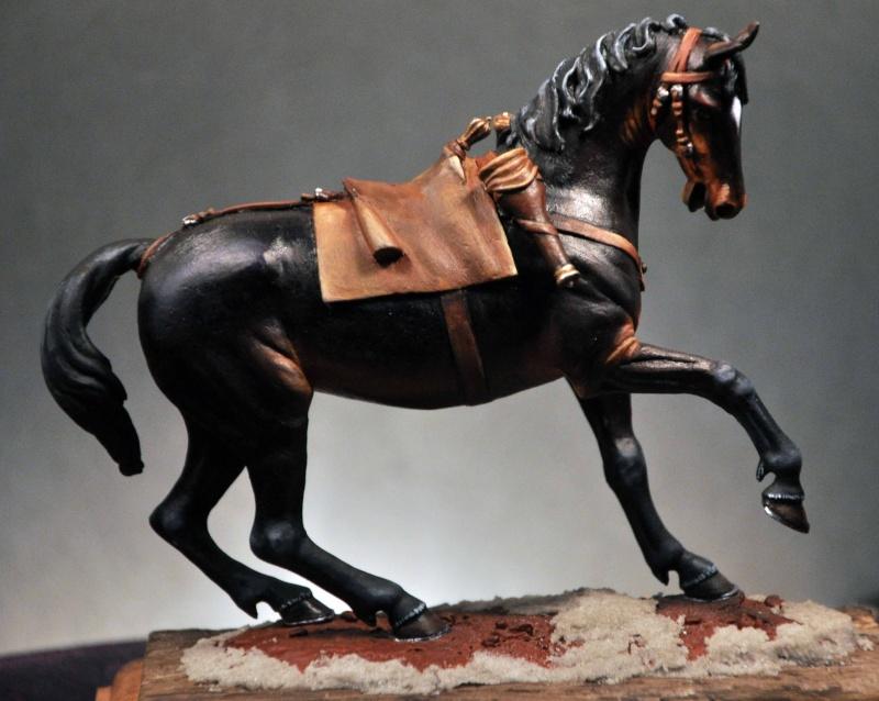 Cavalier parlementaire- Guerre civile anglaise 1645- 80 mm Border Miniatures - Terminé   4modi10