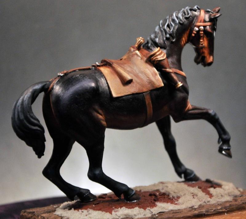 Cavalier parlementaire- Guerre civile anglaise 1645- 80 mm Border Miniatures - Terminé   5modi10