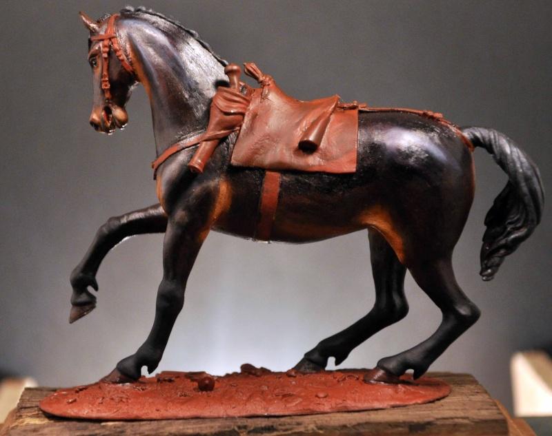Cavalier parlementaire- Guerre civile anglaise 1645- 80 mm Border Miniatures - Terminé   Dsc_0013