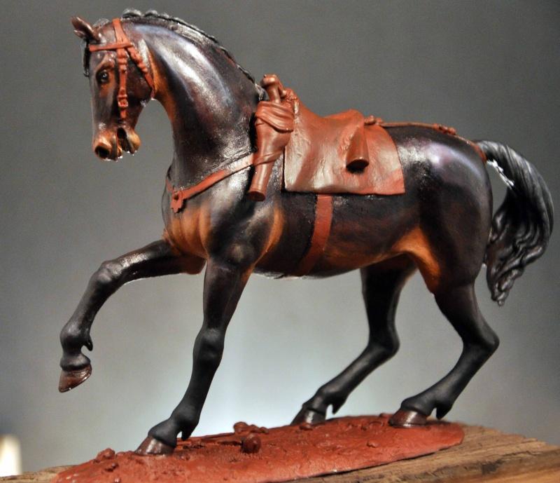 Cavalier parlementaire- Guerre civile anglaise 1645- 80 mm Border Miniatures - Terminé   Dsc_0014