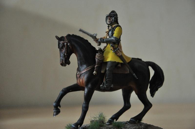 Cavalier parlementaire- Guerre civile anglaise 1645- 80 mm Border Miniatures - Terminé   - Page 2 Dsc_0020