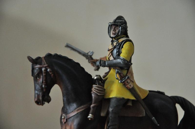 Cavalier parlementaire- Guerre civile anglaise 1645- 80 mm Border Miniatures - Terminé   - Page 2 Dsc_0022