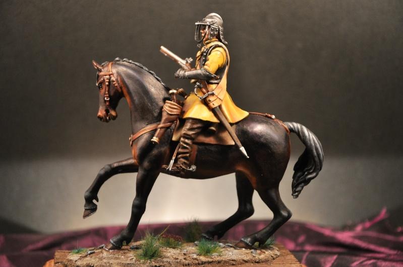 Cavalier parlementaire- Guerre civile anglaise 1645- 80 mm Border Miniatures - Terminé   - Page 2 Dsc_0026