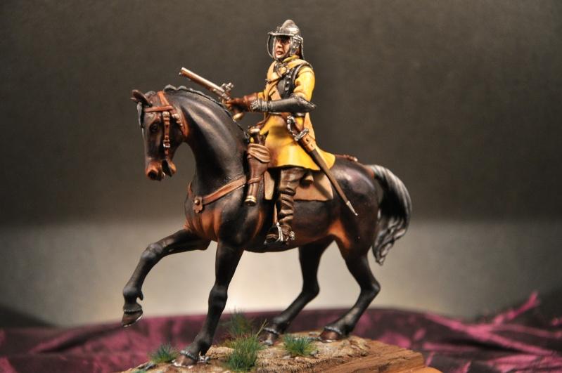 Cavalier parlementaire- Guerre civile anglaise 1645- 80 mm Border Miniatures - Terminé   - Page 2 Dsc_0027