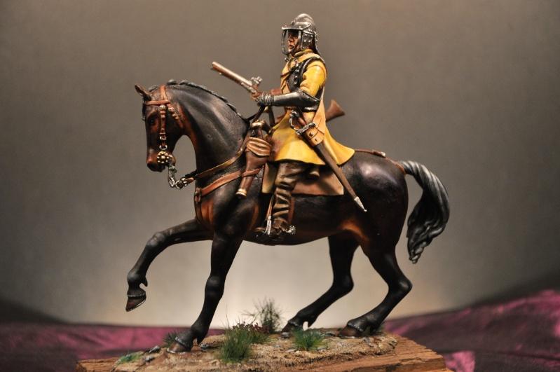 Cavalier parlementaire- Guerre civile anglaise 1645- 80 mm Border Miniatures - Terminé   - Page 2 Dsc_0034