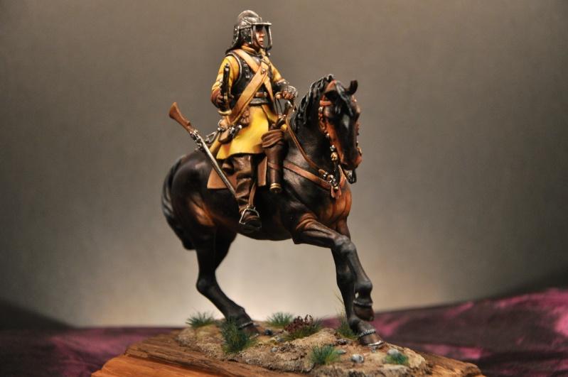 Cavalier parlementaire- Guerre civile anglaise 1645- 80 mm Border Miniatures - Terminé   - Page 2 Dsc_0036
