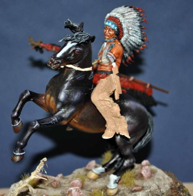 Chef sioux tribu des Lakotas- 90 mm PEGASO. La fin Dsc_0055