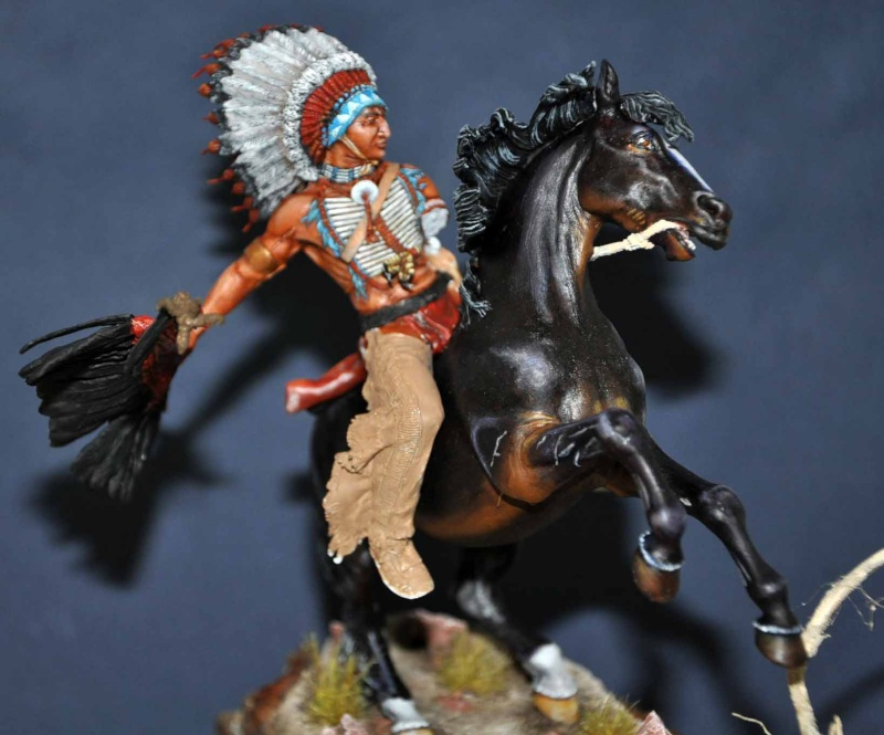 Chef sioux tribu des Lakotas- 90 mm PEGASO. La fin Dsc_0056