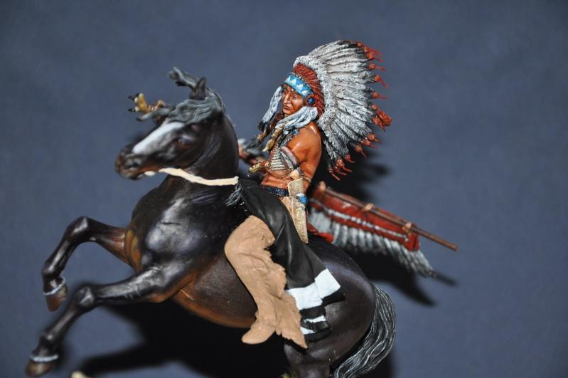 Chef sioux tribu des Lakotas- 90 mm PEGASO. La fin Dsc_0061