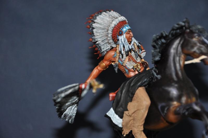 Chef sioux tribu des Lakotas- 90 mm PEGASO. La fin Dsc_0062