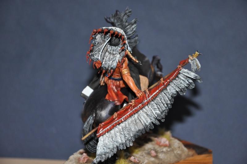 Chef sioux tribu des Lakotas- 90 mm PEGASO. La fin Dsc_0066