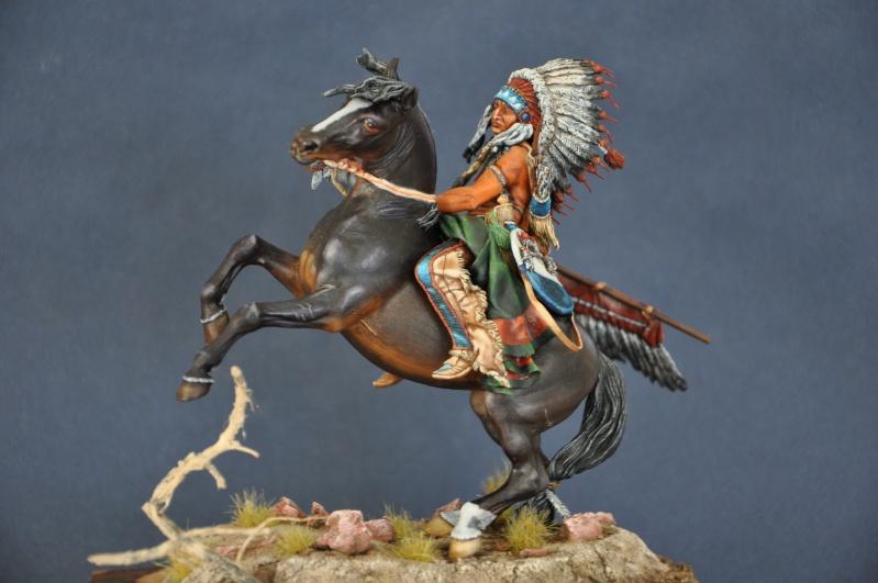 Chef sioux tribu des Lakotas- 90 mm PEGASO. La fin Dsc_0067