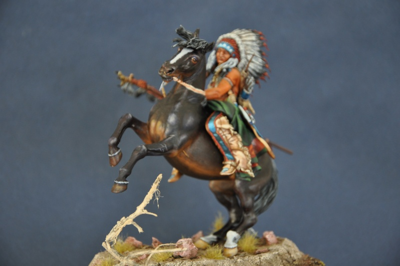 Chef sioux tribu des Lakotas- 90 mm PEGASO. La fin Dsc_0068