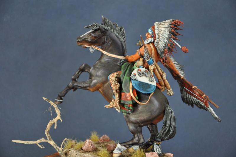 Chef sioux tribu des Lakotas- 90 mm PEGASO. La fin Dsc_0069
