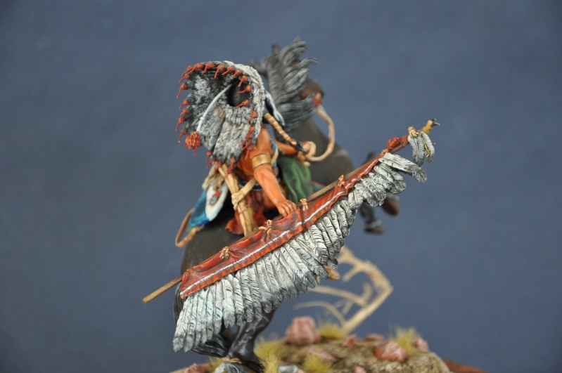 Chef sioux tribu des Lakotas- 90 mm PEGASO. La fin Dsc_0071