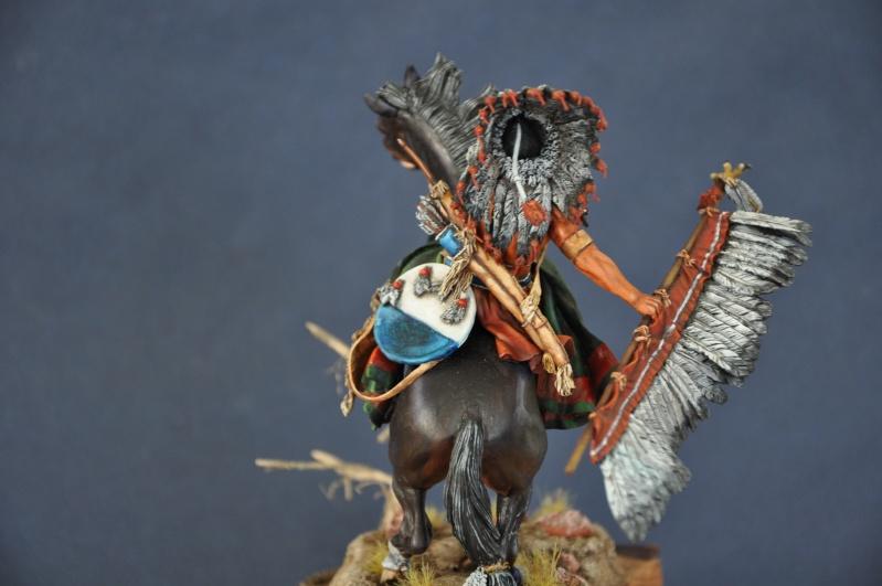 Chef sioux tribu des Lakotas- 90 mm PEGASO. La fin Dsc_0072