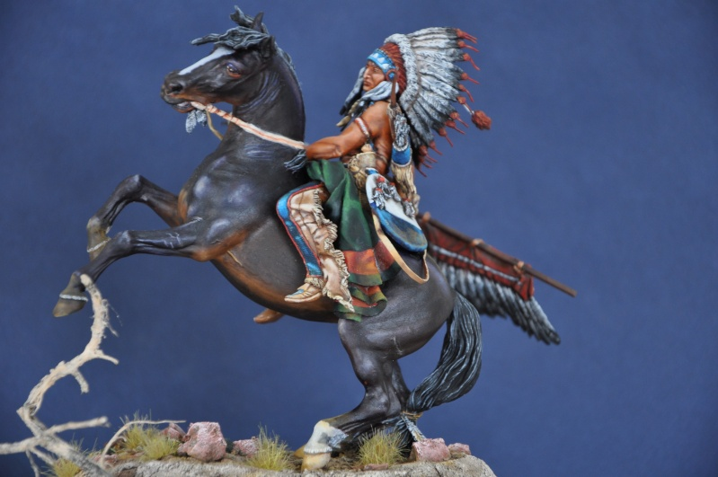 Chef sioux tribu des Lakotas- 90 mm PEGASO. La fin Dsc_0073