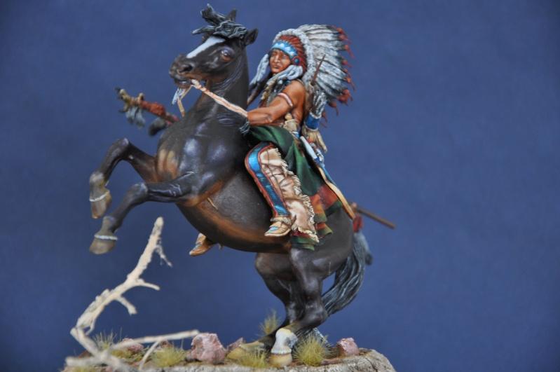 Chef sioux tribu des Lakotas- 90 mm PEGASO. La fin Dsc_0074