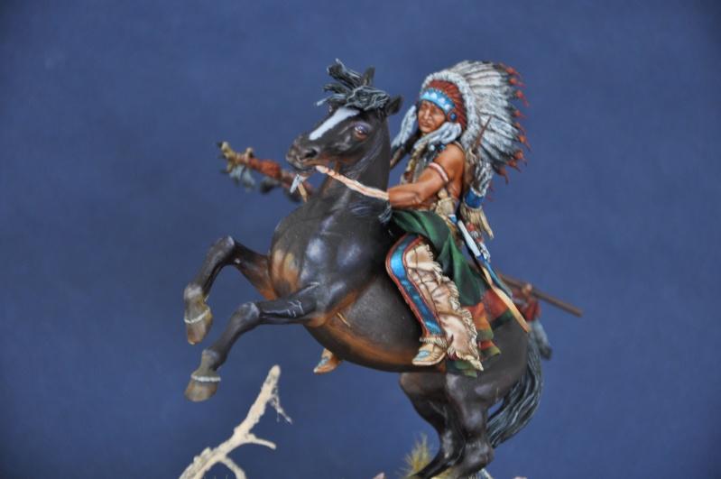 Chef sioux tribu des Lakotas- 90 mm PEGASO. La fin Dsc_0075
