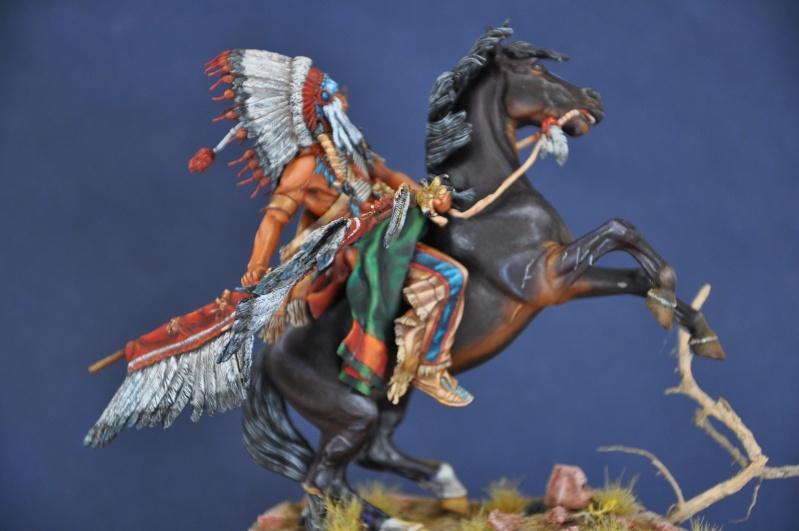 Chef sioux tribu des Lakotas- 90 mm PEGASO. La fin Dsc_0077