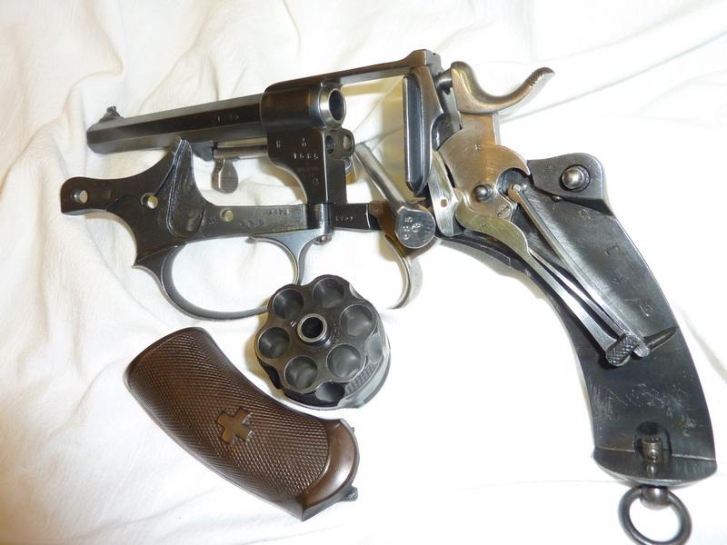 Revolver WF 1878 à la maison. Rechargement de la 1878 10.4mm Cp104010