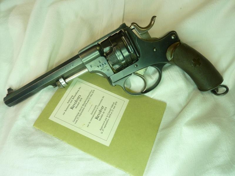 Revolver WF 1878 à la maison. Rechargement de la 1878 10.4mm Jp104010