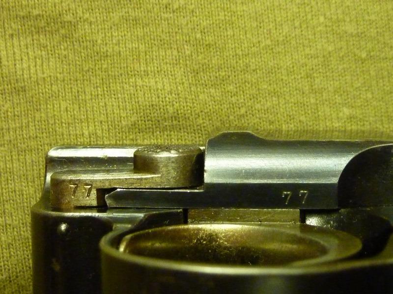 P08 WW1 régimenté de 1911 P1030518