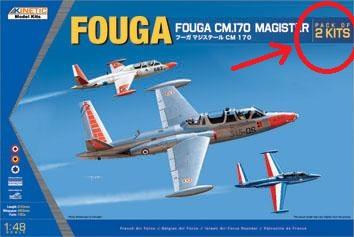 Fouga Magister 1/48 Kinetic M_340810