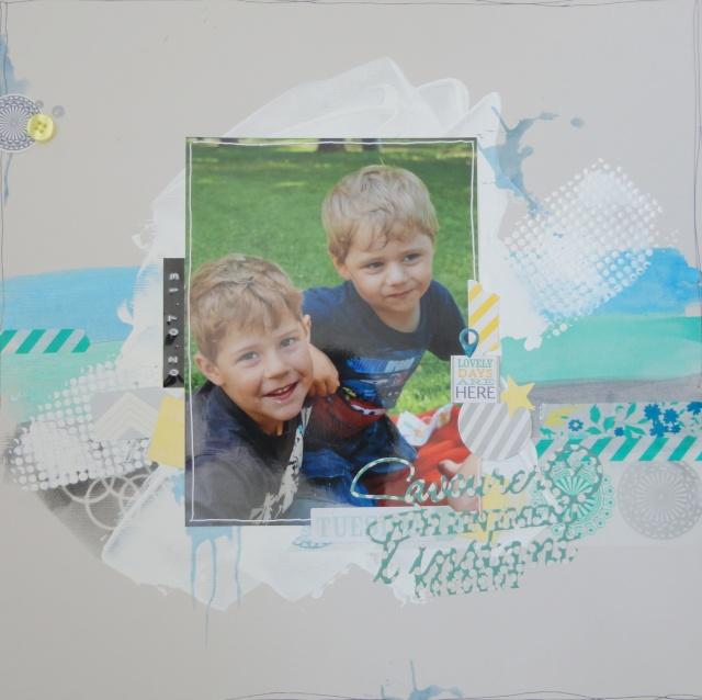 Les Stencils ou pochoirs : 3 pages Dsc01028