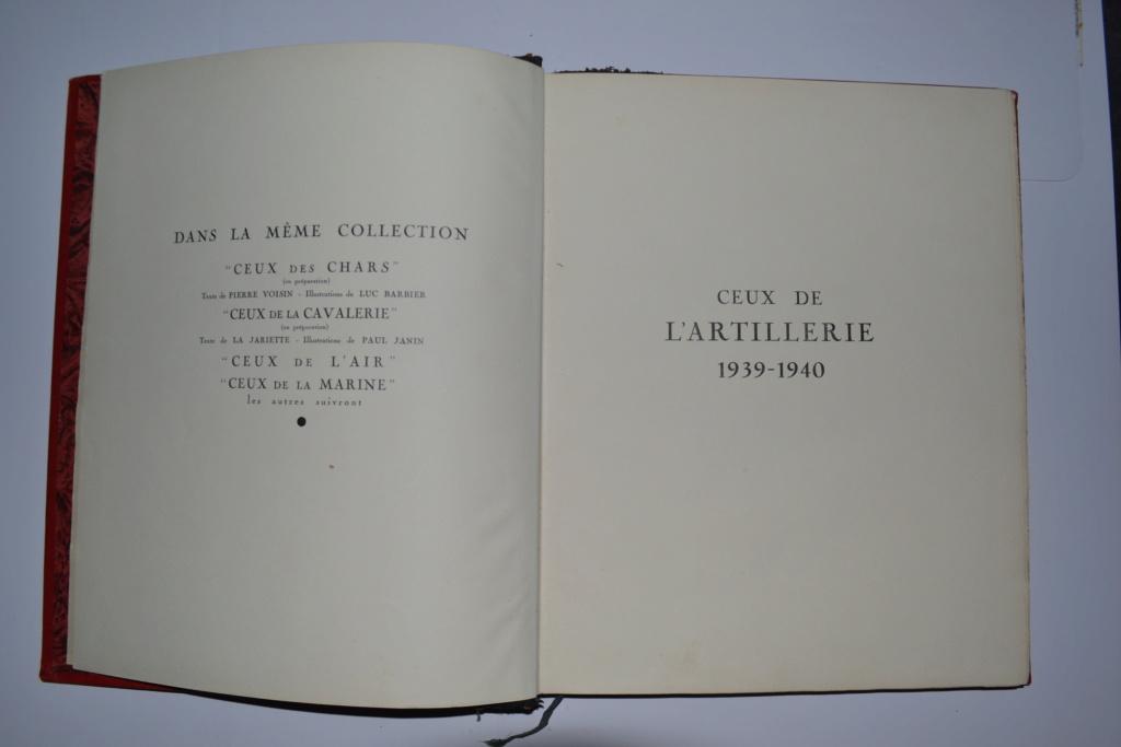 Livre CEUX DE L'ARTILLERIE Campagne de France 1940 édité en 1941. ESC - DEC 5 Dsc_0017