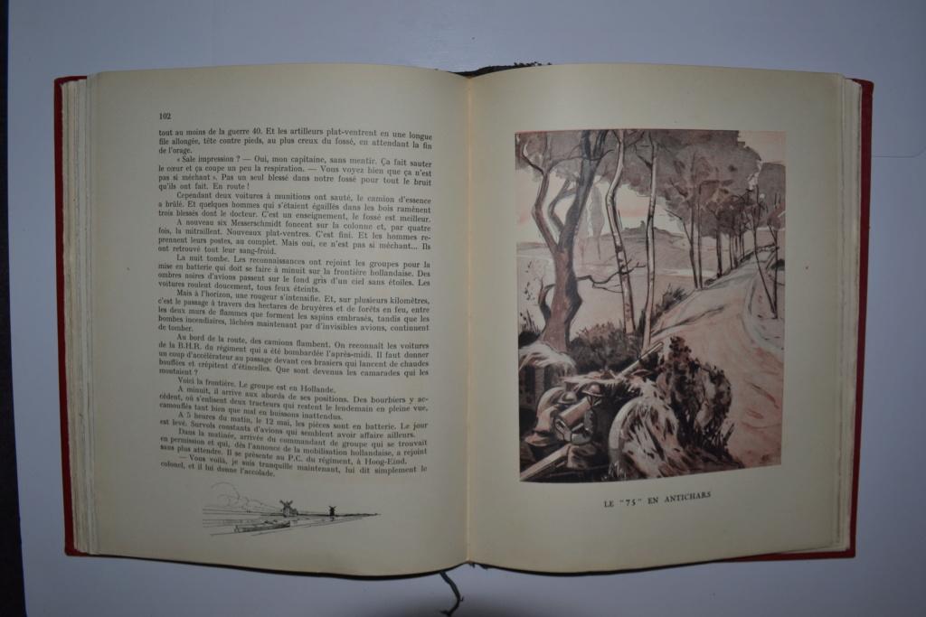Livre CEUX DE L'ARTILLERIE Campagne de France 1940 édité en 1941. ESC - DEC 5 Dsc_0024
