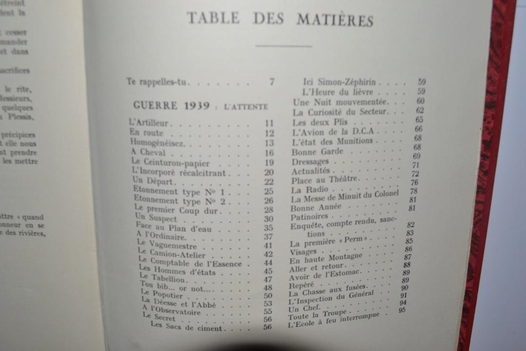 Livre CEUX DE L'ARTILLERIE Campagne de France 1940 édité en 1941. ESC - DEC 5 Dsc_0026