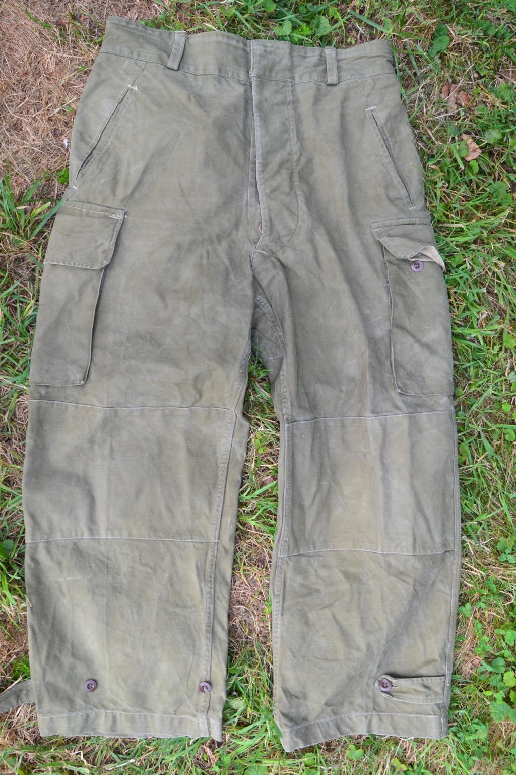 Ensemble après-guerre INDO/ALGERIE d'un même homme: vestes, pantalon, équipement cuir, gourde, rangers, chapeau de brousse, musette. AJOUT PHOTOS + BAISSE DE PRIX TERMINE-ALPINS-SEPT1 Dsc_2037