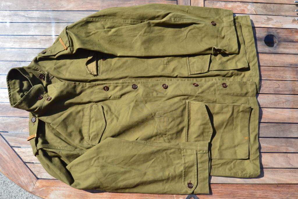 Ensemble après-guerre INDO/ALGERIE d'un même homme: vestes, pantalon, équipement cuir, gourde, rangers, chapeau de brousse, musette. AJOUT PHOTOS + BAISSE DE PRIX TERMINE-ALPINS-SEPT1 Dsc_2110