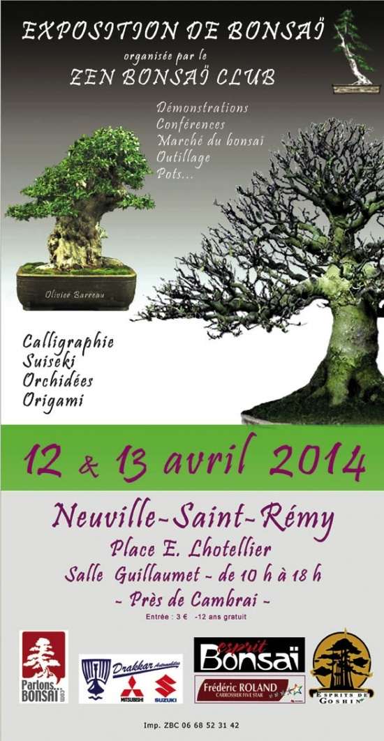 Neuville Saint Remy (59) 12 et 13 avril expo bonsai 14041210
